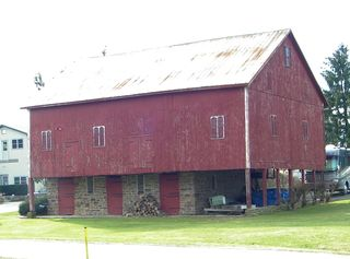 Mannings red barn